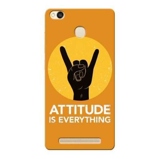 Attitude Xiaomi Redmi 3s Prime Mobile Cover