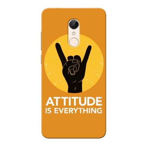 Attitude Xiaomi Redmi 5 Mobile Cover
