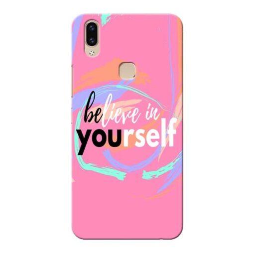 Believe In Vivo V9 Mobile Cover