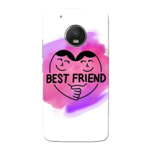Best Friend Moto G5 Plus Mobile Cover