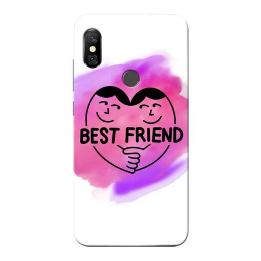 Best Friend Redmi Note 6 Pro Mobile Cover