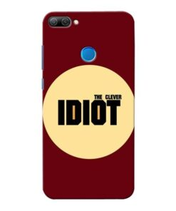 Clever Idiot Honor 9N Mobile Cover