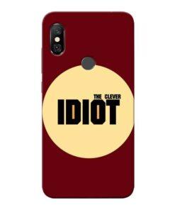 Clever Idiot Redmi Note 6 Pro Mobile Cover