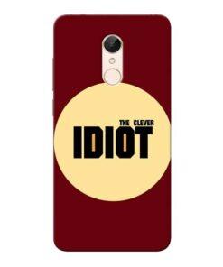Clever Idiot Xiaomi Redmi 5 Mobile Cover