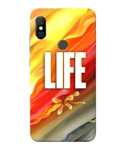 Colorful Life Redmi Note 6 Pro Mobile Cover