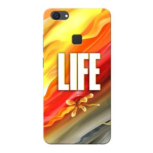 Colorful Life Vivo V7 Plus Mobile Cover
