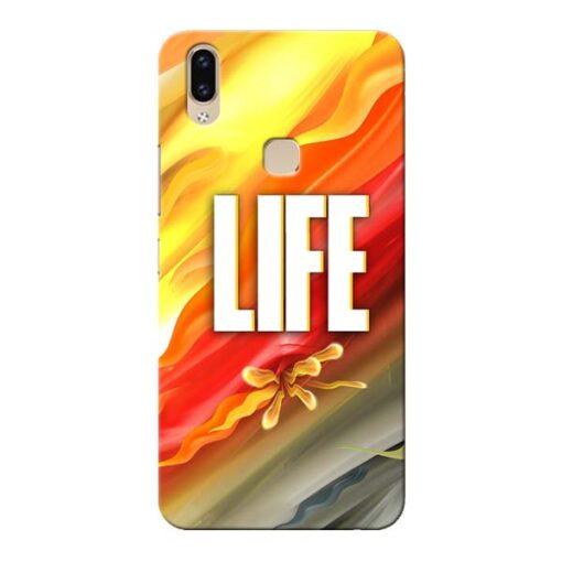 Colorful Life Vivo V9 Mobile Cover