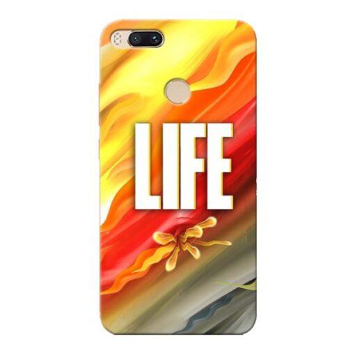 Colorful Life Xiaomi Mi A1 Mobile Cover