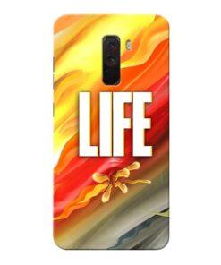 Colorful Life Xiaomi Poco F1 Mobile Cover