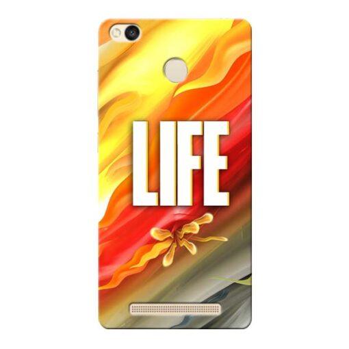 Colorful Life Xiaomi Redmi 3s Prime Mobile Cover