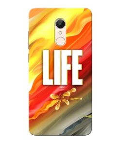 Colorful Life Xiaomi Redmi 5 Mobile Cover