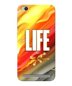 Colorful Life Xiaomi Redmi 5A Mobile Cover