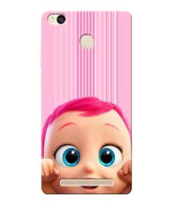 Cute Baby Xiaomi Redmi 3s Prime Mobile Cover