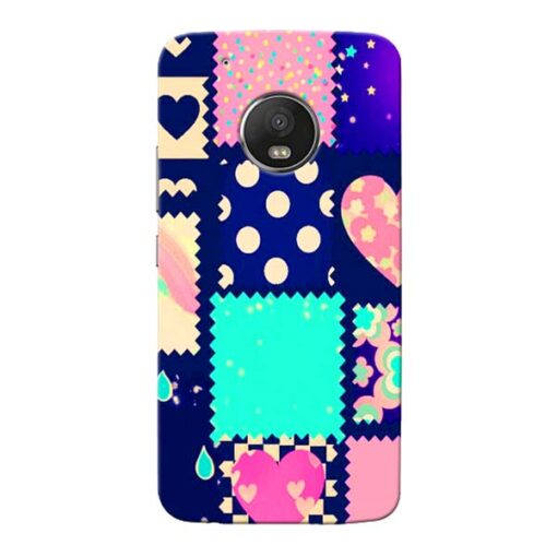 Cute Girly Moto G5 Plus Mobile Cover