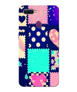 Cute Girly Oppo F9 Pro Mobile Cover