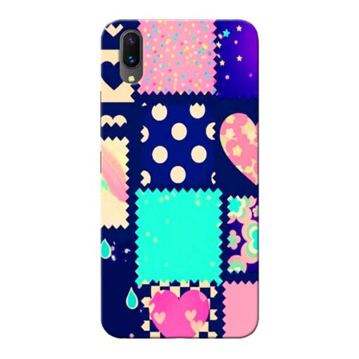 Cute Girly Vivo X21 Mobile Cover