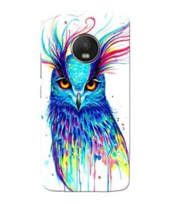 Cute Owl Moto G5 Plus Mobile Cover