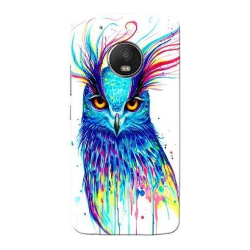 Cute Owl Moto G5 Plus Mobile Cover