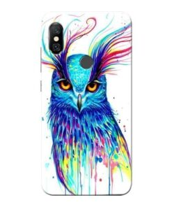 Cute Owl Redmi Note 6 Pro Mobile Cover