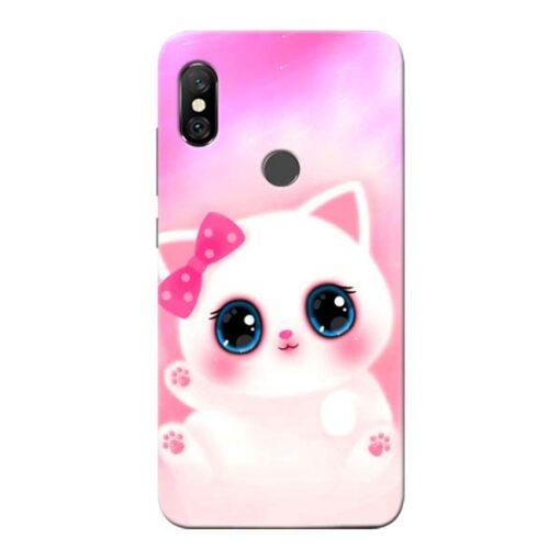 Cute Squishy Redmi Note 6 Pro Mobile Cover