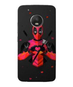 DeedPool Cool Moto G5 Plus Mobile Cover
