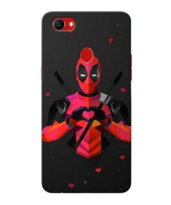 DeedPool Cool Oppo F7 Mobile Covers