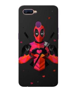 DeedPool Cool Oppo F9 Pro Mobile Cover