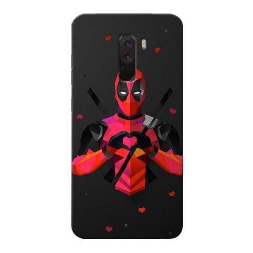 DeedPool Cool Xiaomi Poco F1 Mobile Cover