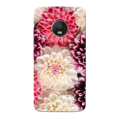 Digital Floral Moto G5 Plus Mobile Cover