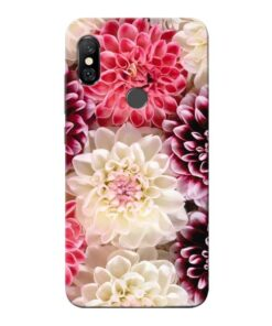 Digital Floral Redmi Note 6 Pro Mobile Cover