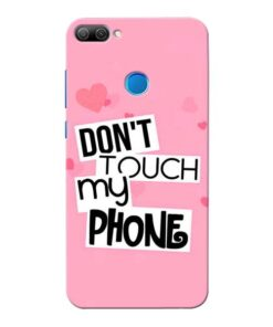 Dont Touch Honor 9N Mobile Cover
