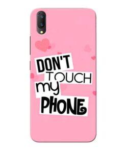 Dont Touch Vivo V11 Pro Mobile Cover
