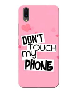 Dont Touch Vivo X21 Mobile Cover