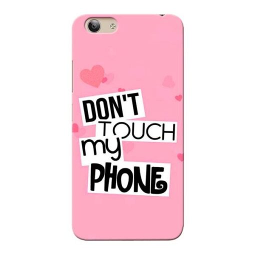 Dont Touch Vivo Y53i Mobile Cover