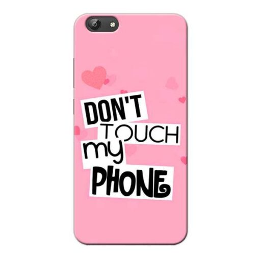 Dont Touch Vivo Y66 Mobile Cover