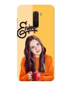 Enjoy Life Xiaomi Poco F1 Mobile Cover