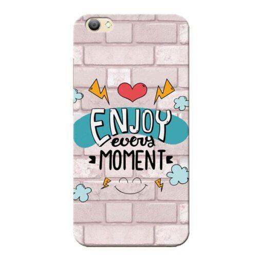 Enjoy Moment Vivo V5s Mobile Cover