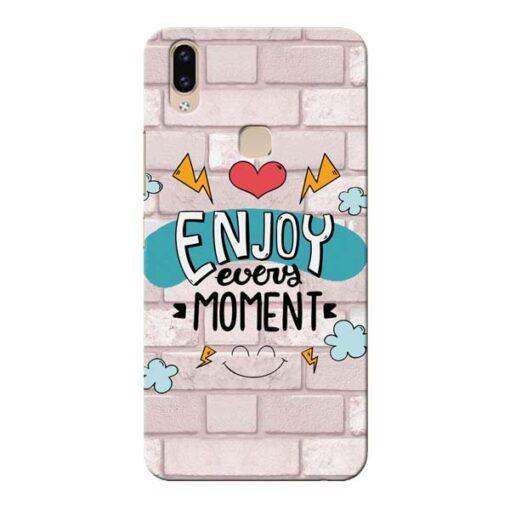 Enjoy Moment Vivo V9 Mobile Cover