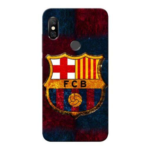 FC Barcelona Redmi Note 6 Pro Mobile Cover