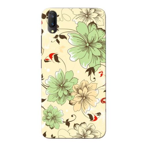 Floral Design Vivo V11 Pro Mobile Cover