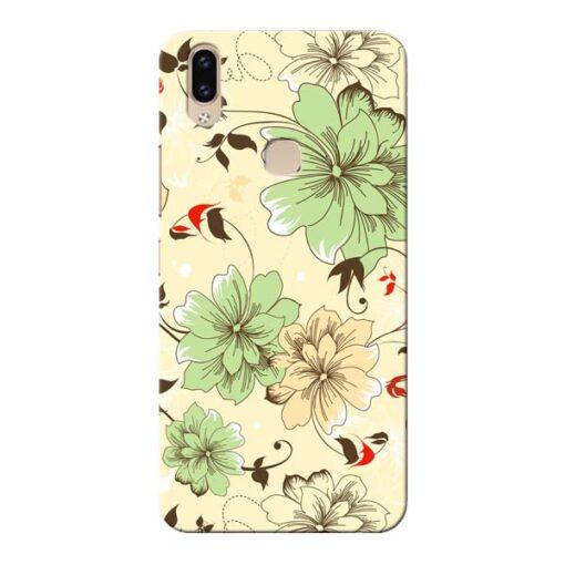 Floral Design Vivo V9 Mobile Cover