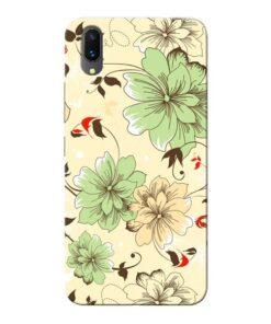 Floral Design Vivo X21 Mobile Cover