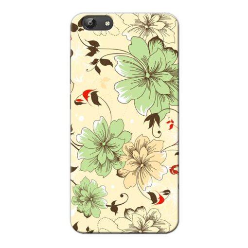Floral Design Vivo Y66 Mobile Cover