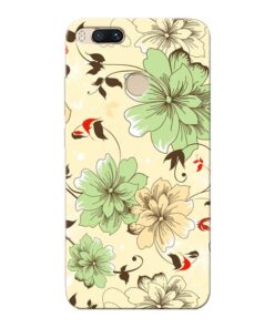 Floral Design Xiaomi Mi A1 Mobile Cover