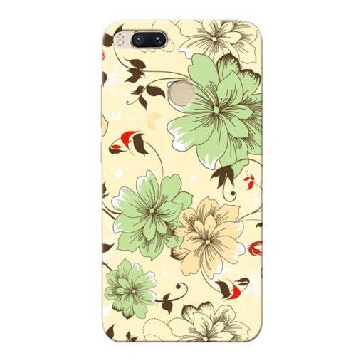 Floral Design Xiaomi Mi A1 Mobile Cover