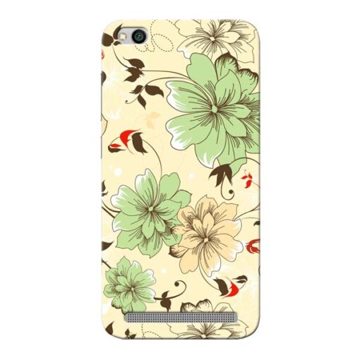 Floral Design Xiaomi Redmi 5A Mobile Cover