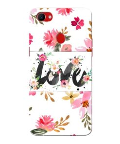 Flower Love Oppo F7 Mobile Covers