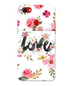 Flower Love Oppo F7 Mobile Covers