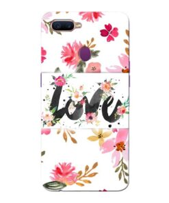 Flower Love Oppo F9 Pro Mobile Cover