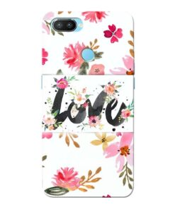 Flower Love Oppo Realme 2 Pro Mobile Cover